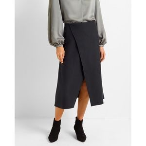 Club Monaco A Line Cut Away Skirt